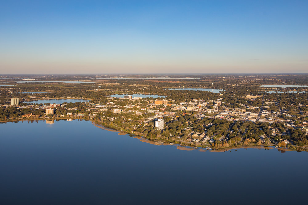 aerial view of winter haven