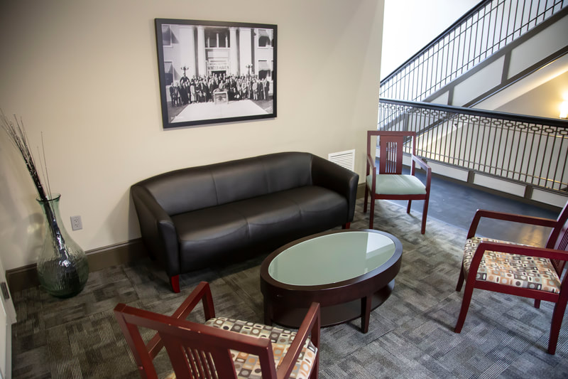 Beymer Office Suites Sitting Area