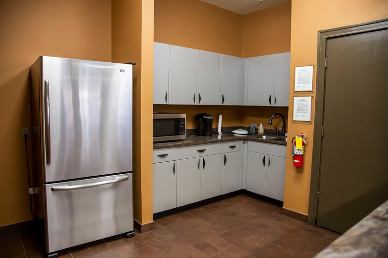 Beymer Office Suites Kitchen