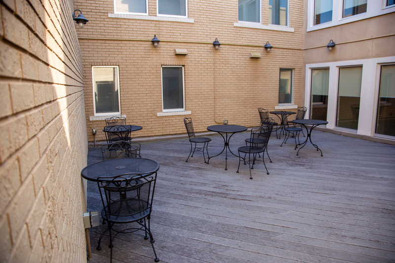 Beymer Office Suites Patio