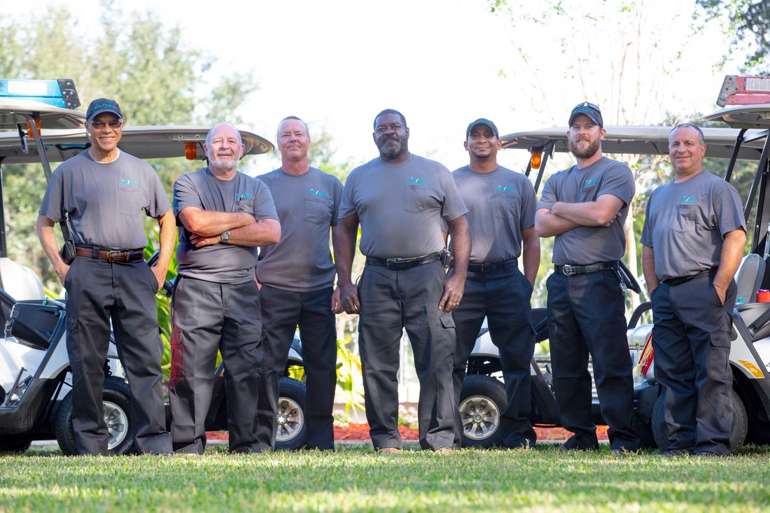 group photo of our dedicated maintenance team